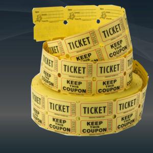 Билеты на термокартоне